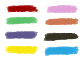 Acuarela, banner, fondo negro, colores, ilustración
