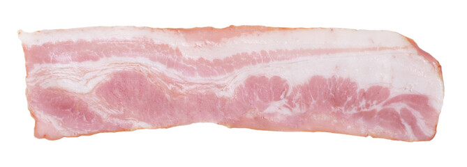 Slices of breast meat