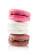 stack of three macarons
