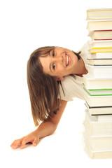 Schulkind mit Bücher 29.07.12