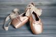 Leinwandbild Motiv ballet shoes