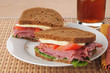 Corned beef sadwich