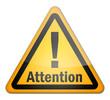 """Hazard Sign """"Attention"""""""