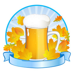 Vector Illustration of an Oktoberfest Background