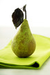 Standing pear, close-up