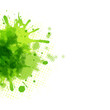 Abstract Green Blob