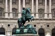 Reiterdenkmal Prinz Eugens vor der Hofburg