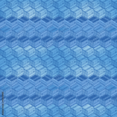 Art mosaic seamless pattern.