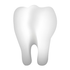 Vector 3d illustration of tooth