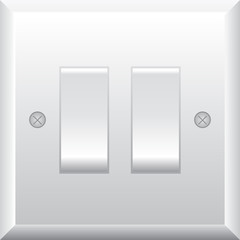 Vector illustration of light switch