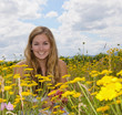 Sommer-Glück: Baden im Blüten-Meer
