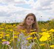 Sommer-Glück: Baden im Blumenmeer