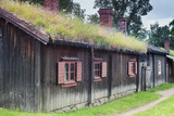 Scandinavian Traditional Cottage poster