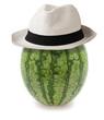 watermelon whit hat
