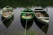 barche sul fiume Adda.