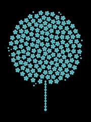 ターコイズの木