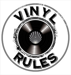 Vinyl rules background