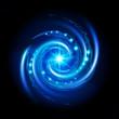 Blue Spiral Vortex
