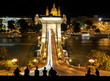 Chain Bridge at Budapest, Hungary