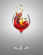 fire wineglass
