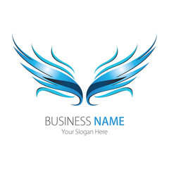 Company (Business) Logo Design, Vector, Wings