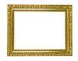 Prachtvoller antiker vergoldeter Bilderrahmen