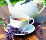Fototapety Lavendeltee