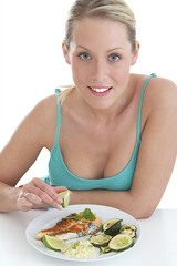 Alimentation - Jeune femme