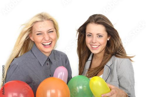 Spaß mit Luftballons