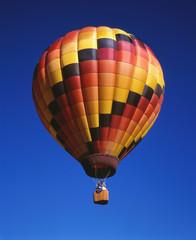 Heissluftballon bunt