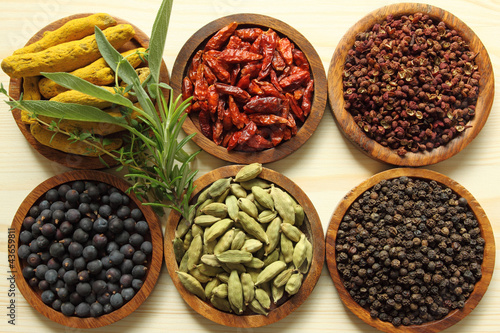 Spices and herbs - 43659811