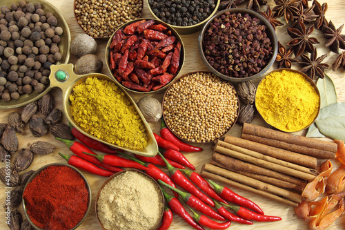 Spices and herbs - 43659873