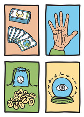 various types of fortune telling