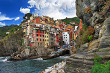 Fototapety picturesque Italy series - Riomagiorre, Chinque terre