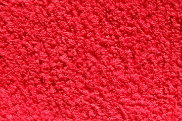 rotes Baumwolltuch