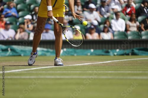 Leinwanddruck Bild Tennis