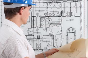 Architekt z projektem