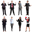 Expressive business people collection