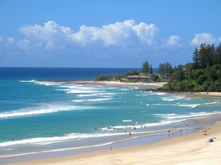 View to Snapper Rocks
