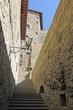 Treppe in Cortona
