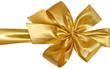 ruban doré emballage paquet cadeau