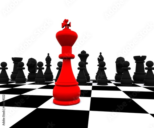 3D Chess - Red King