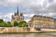 Notre Dame Cathedral. Paris, France.