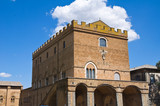 Soliano palace. Orvieto. Umbria. Italy.