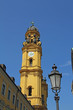 Theatinerkirche und Laterne