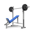 Weight bench for chest angular