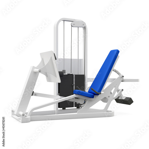 Weight bench for legs