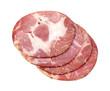 Capacola Ham Slices at Angle