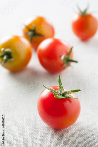 Ripe cherry tomatoes