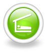 "Light Green Icon ""Sleeping Shelter"""
